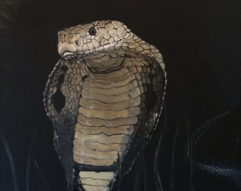 King Cobra - Original Acrylic Painting