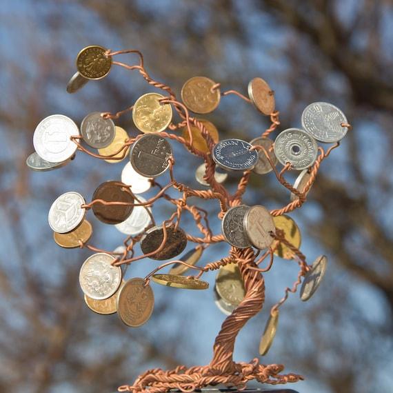 Geld Baum Baum Mit Münzen Feng Shui Der Talisman Bringt Etsy