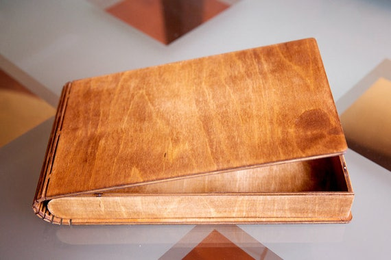 Birch plywood box, souvenir box