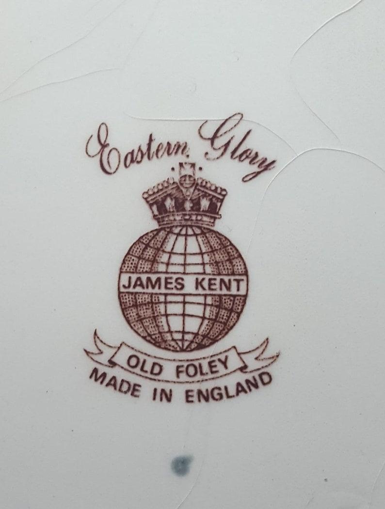 James Kent Old Foley Ginger Jar Eastern Glory c1950