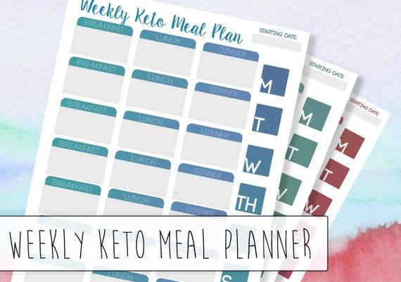 Dieta keto menu semanal pdf