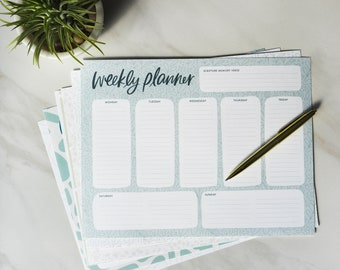 Weekly Planner (Digital Download) // printable stationery // daily devotional tools // Christian resources // Monday-Sunday // list making