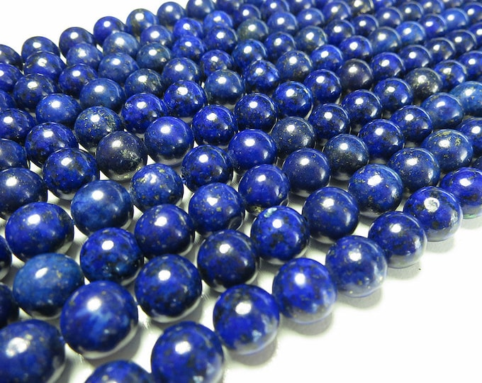 Lapis Lazuli Beads 4mm 6mm 8mm 10mm 12mm Round Natural Gemstone 15.5 inch Full Strand Wholesale