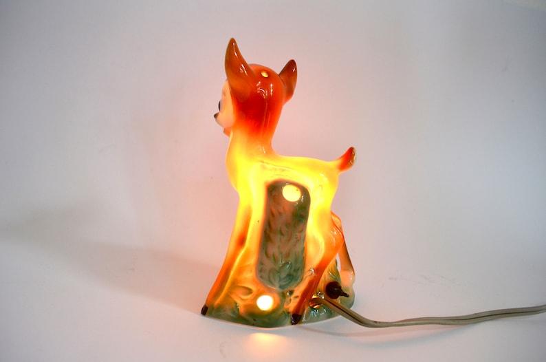 Lampe Vintage Bambi Chambre DisneyDe Parfum Nuit Goebel En Porcelaine À Bébé CtQrshd