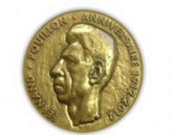 Fernand POUILLON, commemorative medallion