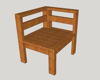 Mod Corner Chair