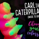 Caterpillar dildo - Choose your colors! - mature