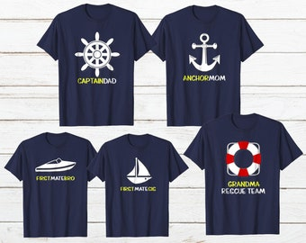 e6a28fd75 FAMILY CRUISE SHIRTS Gift Vacation Matching Cruising Dad Mom Son Daughter Boat  Sailing Family Vacation Ship Custom Family Shirt Personalized