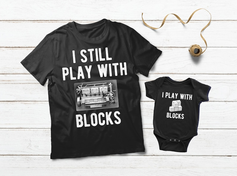 98cb054529f Dad Mechanic Baby Clothes Father Son Matching Shirts Baby