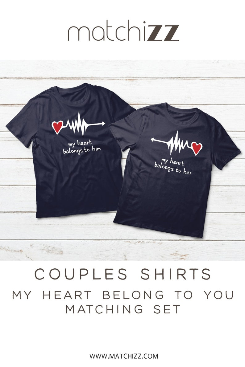 7cfd4c0d1c Couples Shirts Couple Shirts Couples Matching Husband Wife   Etsy