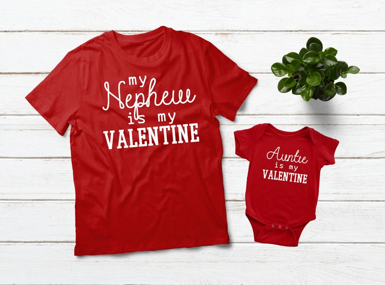 0e88aa63 My Aunt is My Valentine Aunt Gifts Aunt and Nephew Matching | Etsy
