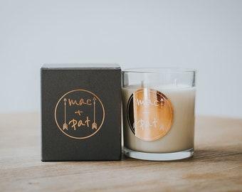 Rosegold large soy candle