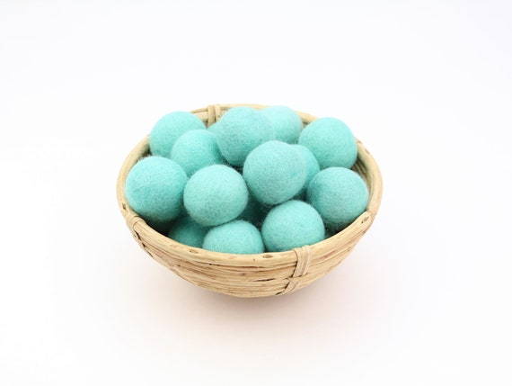 3 cm turquoise felt balls for crafting #34 felt balls decoration pom poms different. Colours Felt Balls Garlands Decoration