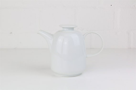 Small white vintage teapot coffee pot from Melitta Germany antique vintage coffee pots tea Pot German pottery
