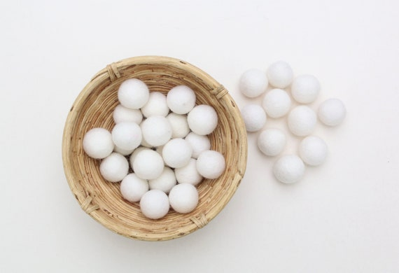 White felt balls for crafting #42 felt balls decoration pom poms versh. Colors Felt Balls Garlands Decoration