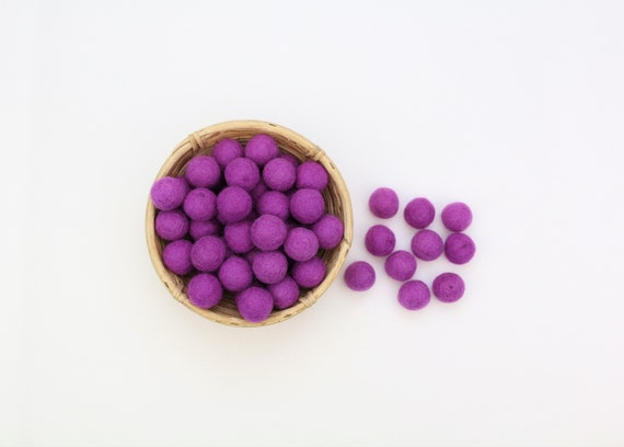 purple felt balls for crafting #23 felt balls decoration pom poms versch. Colors Felt Balls Garlands Decoration Colorful