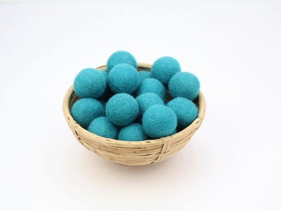 3 cm petrol felt balls for crafting #33 felt balls decoration pom poms different. Colours Felt Balls Garlands Decoration