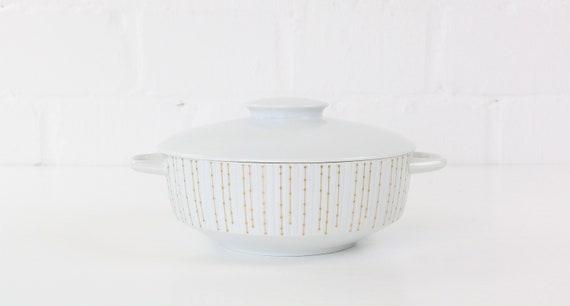 Terrine bowl with lids & handles Rosenthal studio line modulation reigen midcentury modern design tableware kitchen