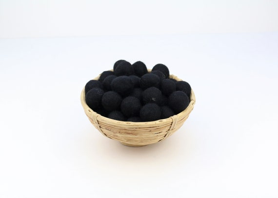 black felt balls for crafting #43 felt balls decoration pom poms. Colours Felt Balls Garlands Decoration