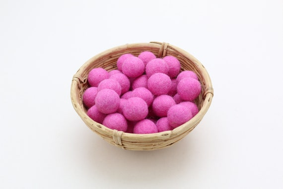 Pink felt balls for crafting #18 felt balls decoration pom poms versh. Colors Felt Balls Garlands Decoration Colorful