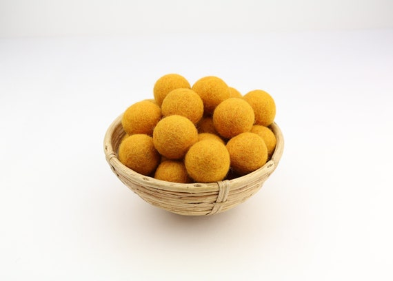 3 cm gold felt balls for crafting #10 felt balls decoration pom poms different. Colours Felt Balls Garlands Decoration