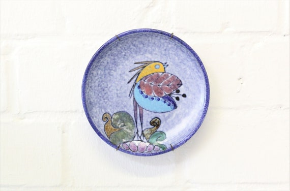 Decorative plate made of Portuguese ceramics handmade Portugese ceramics