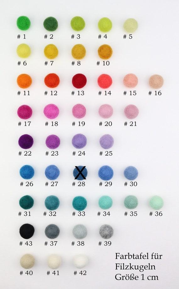 colorful felt ball mix 1 cm for crafting felt balls decoration pom poms versch. Colors Felt Balls Garlands Decoration Colorful Felt Beads