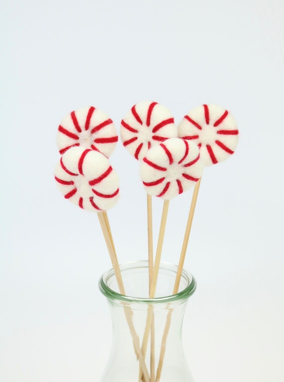 "Peppermint ""Lolli"" Beautiful for Home Nursery Pom Pom Colorful"