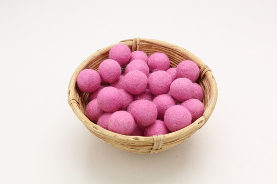 Baby pink felt balls for crafting #19 felt balls decoration pom poms versh. Colors Felt Balls Garlands Decoration Colorful