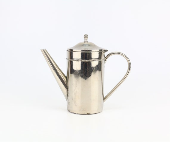 silver plated vintage jug decoration piece teapot coffee pot silver antique