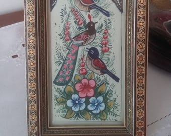 Wooden Mosaic Frame