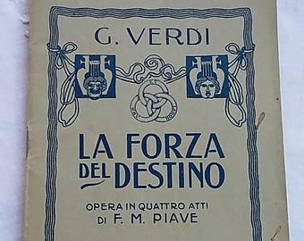 La forza del destino-Opera Libretto