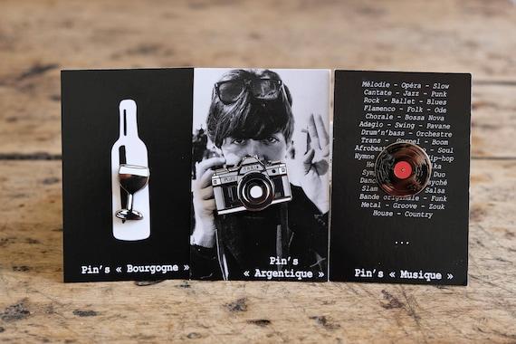"Set of 3 badges - Collection ""Nostalgia"""