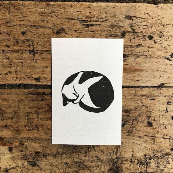 """Card """"Kitten"""""""