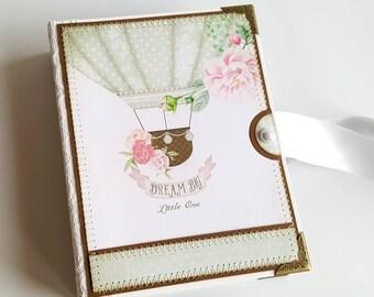Mini Baby Photo Book, Mini Baby Scrapbook, Mini Baby Photo Album, Baby Brag Book, Accordion Baby Album, New Baby Gift, Newborn Baby Gift