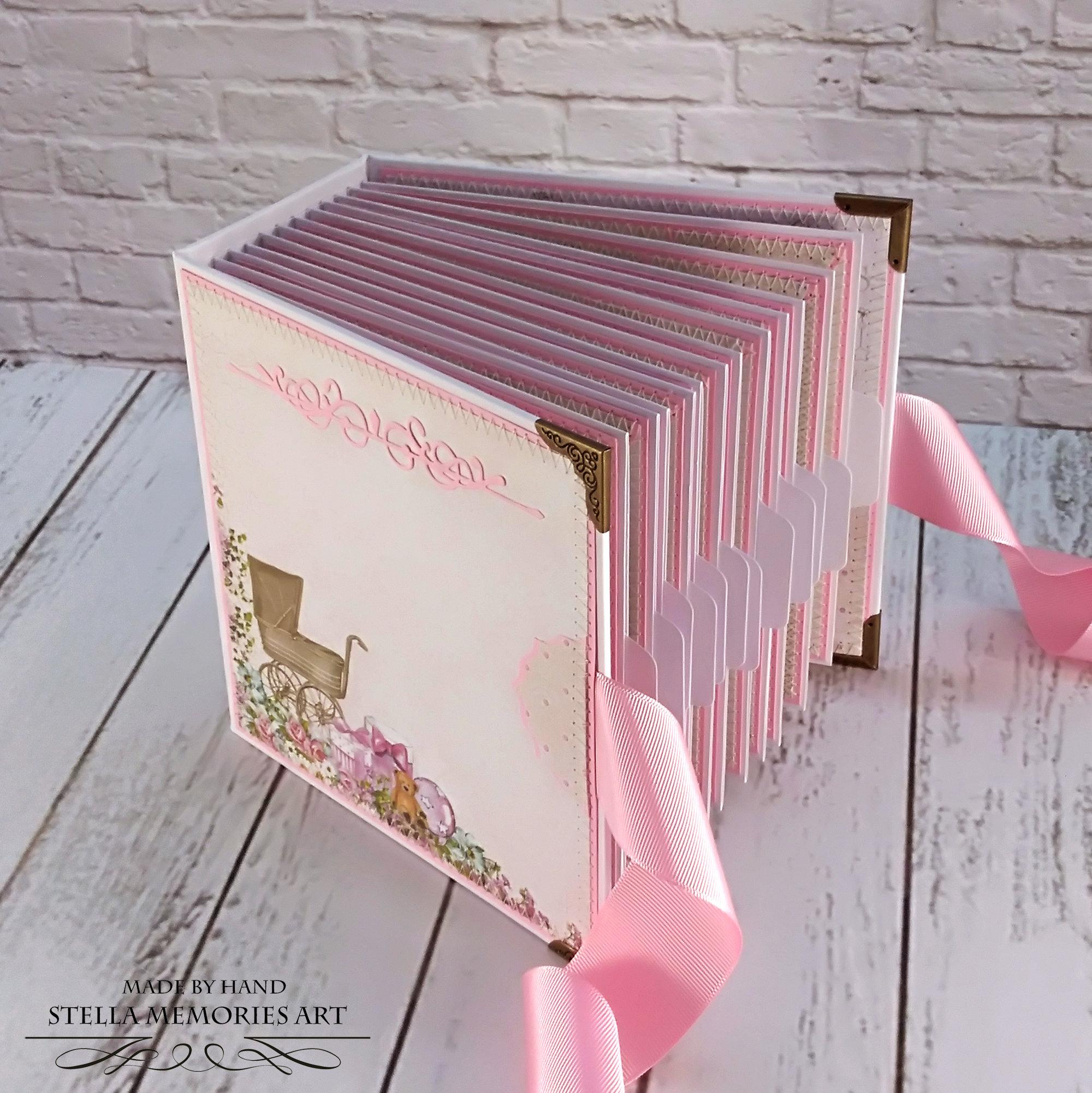 Newborn Memory Journal 17 x 24 cm Pink