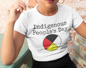 Indigeous People's Day - Anti-Columbus Day Tshirt