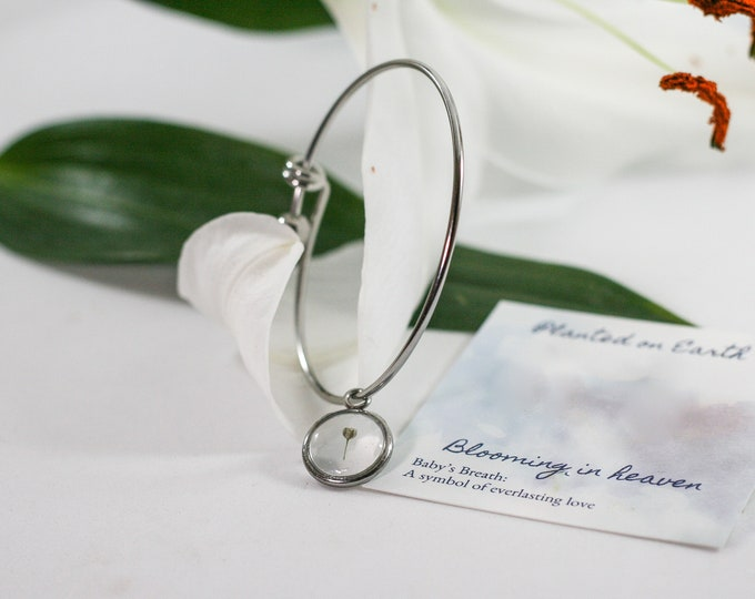 Miscarriage bracelet, miscarriage gift, angel baby, miscarriage present, first trimester loss, second trimester loss, miscarry gift