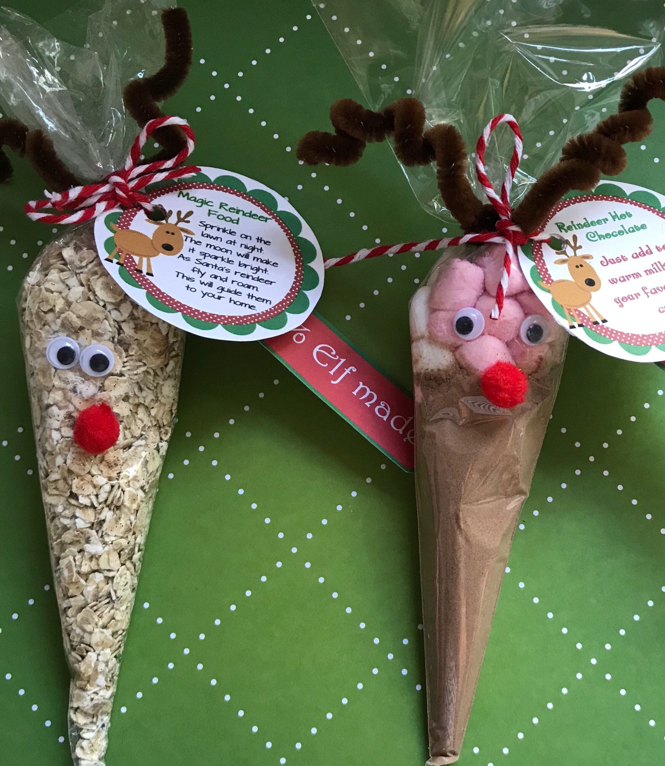 Santa Hot Chocolate Biscuits /& Marshmallows Stocking Filler Christmas Eve Box