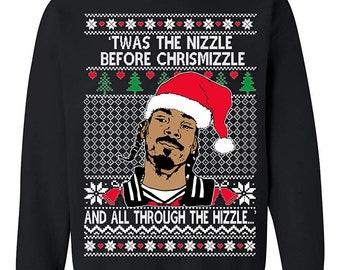 Snoop dogg christmas sweatshirt | Etsy