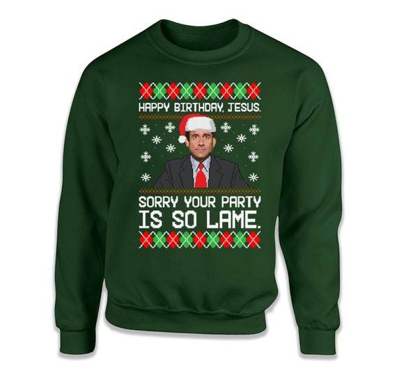 Ugly Christmas Sweater Funny.The Office Ugly Christmas Sweater Funny Office Christmas Gifts For Coworker Tv Show Sweatshirt Christmas Party Sweater Holiday Gift Ideas