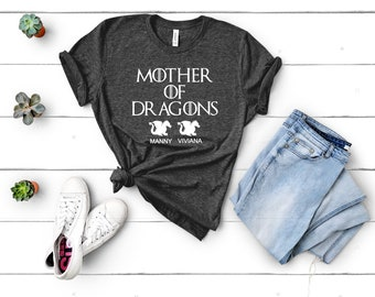 574808f5 Mother's Day Game of Thrones GOT Personalized Baby Dragon Shirt Fast  Shipping