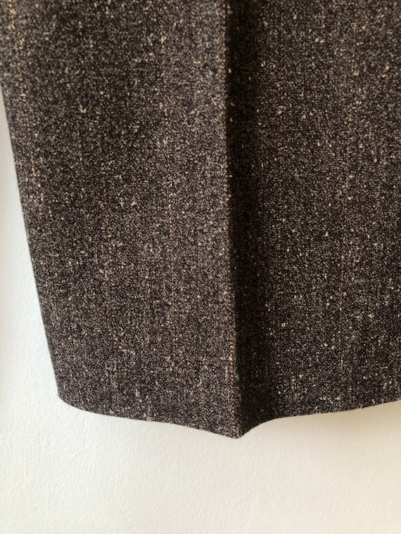 Vintage Two Piece Suit, Two Piece Set, Brown Bouc… - image 9