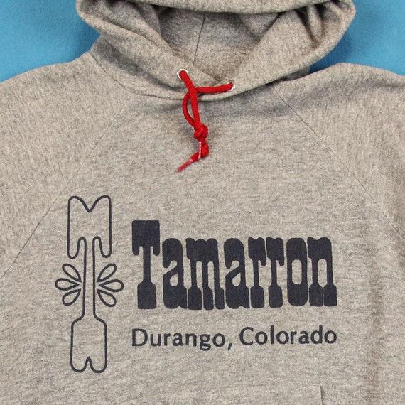 80 s DURANGO COLORADO Sweat à capuche / Vintage ~ S / capuche / Tamarron, Retro, Ski, Vtg, 1980, rayé, Tri-Blend, rayonne, Sweat, chemise, hommes, femmes, petit 206a9e