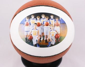 Mini Basketball Gift Gifts MVP Awards Photo Ball Coaches Coach Teacher Appreciation Under 20