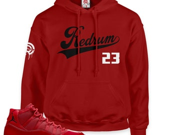cb7ad601d36 Win Like '96 11 Redrum 23 Pullover Hoodie
