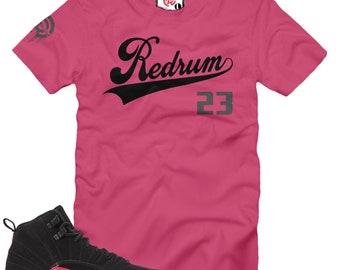 83acdb8ff7dee3 Rush Pink 12 Redrum 23 T-Shirt