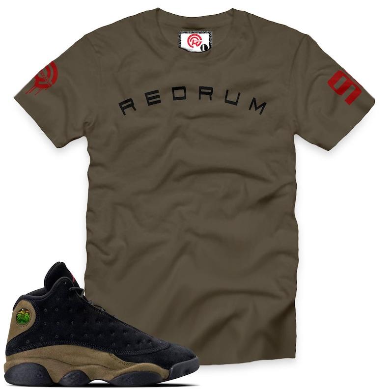 a6c9d53f02b Olive 13 Redrum 98 T-Shirt | Etsy