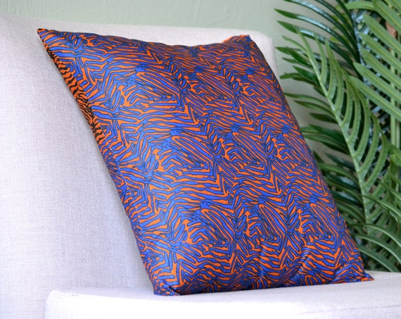 Ila // Ankara Throw Pillow Cover // African Print // 18 x 18