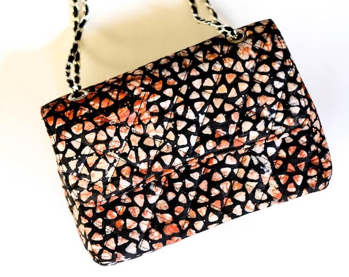Melange Quilted Handbag